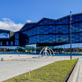 Stjørdal kulturhus, fasade