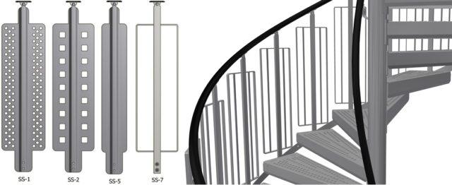 Bilde spiraltrapp