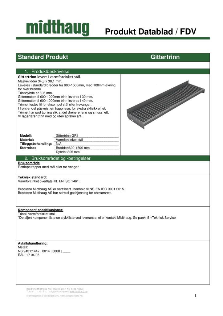 thumbnail of Produktblad-FDV Gittertrinn