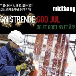 God Jul fra oss på Midthaug
