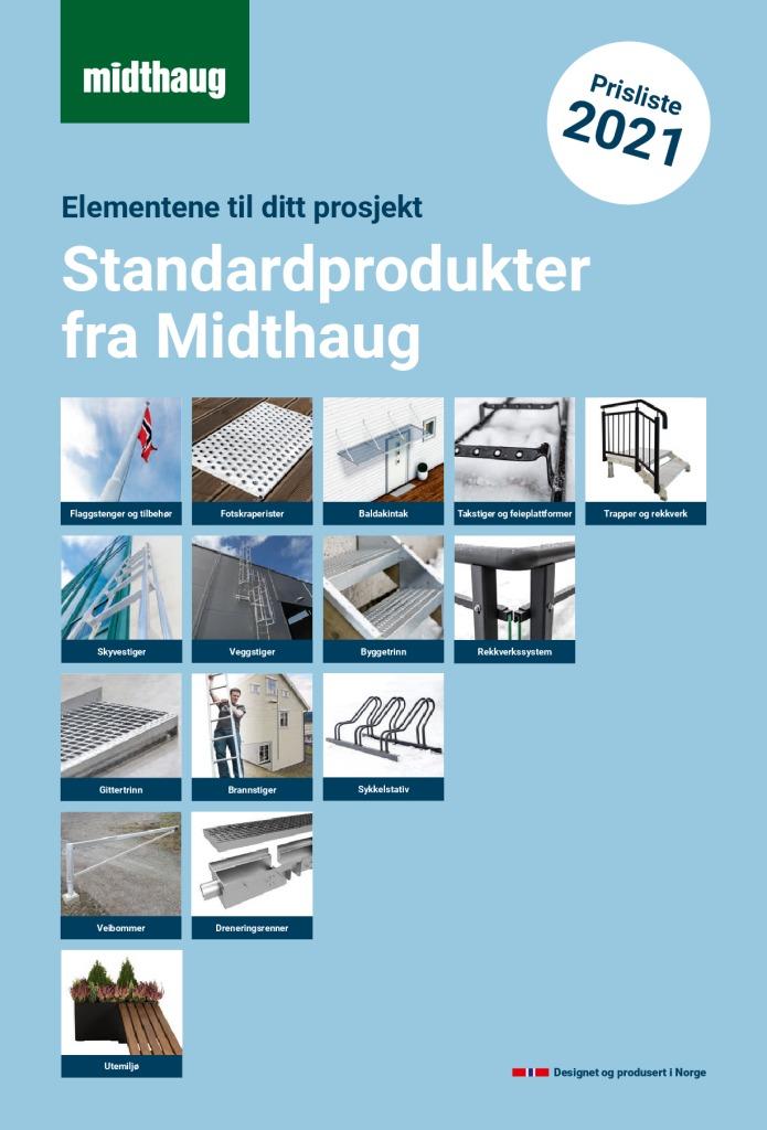 thumbnail of Midthaug Standard produkter 2021_Prisliste